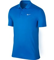 Nike Mens Victory Solid Polo Shirt  Logo On Chest