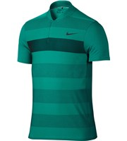 Nike Mens MM Fly Swing Knit Stripe Alpha Polo Shirt