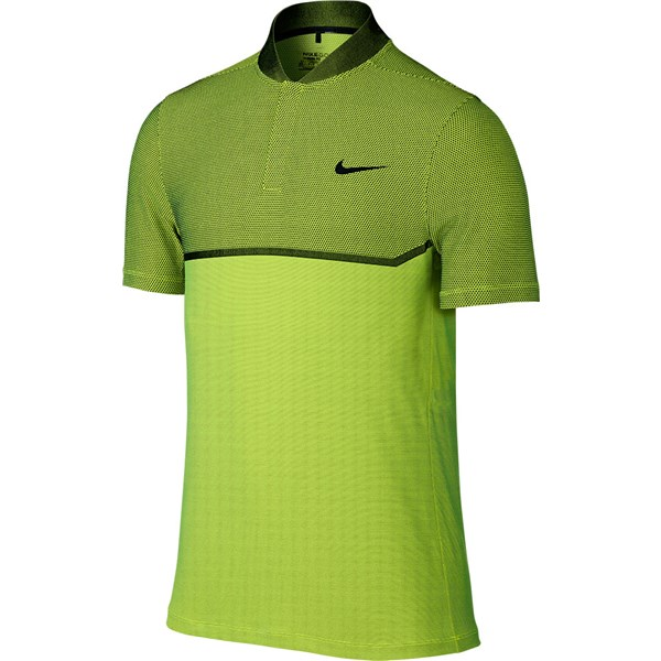 Nike mens mm fly swing knit block alpha polo shirt for Big tall nike golf shirts
