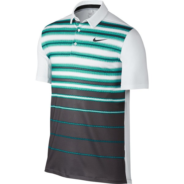 more photos 876b2 c0bce Nike Mens Mobility Fade Stripe Polo Shirt  GolfOnline