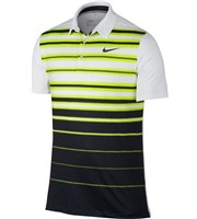 Nike Mens Mobility Fade Stripe Polo Shirt