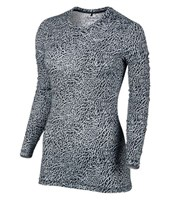 Nike Ladies Printed Baselayer Crew Neck Top