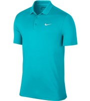 Nike Mens Modern Fit Solid Victory Polo Shirt  Logo on Chest
