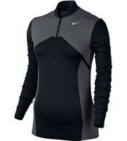 Nike Ladies Zonal Cooling Dri Fit Knit Half Zip Top