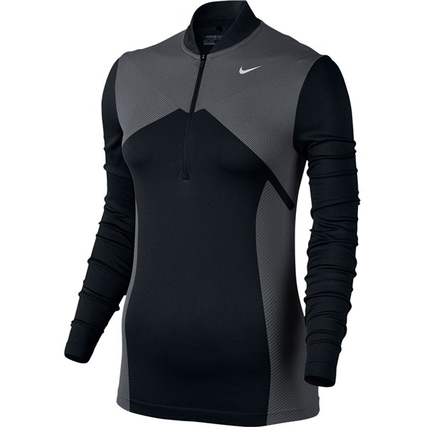 Nike Ladies Zonal Cooling Dry Knit Half Zip Top
