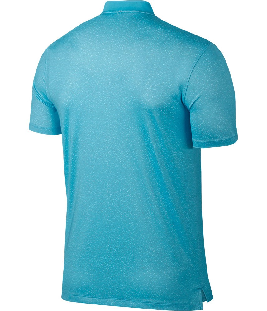 Nike Mens Modern Fit Transition Dry Fade Polo Shirt: modern fit golf shirt