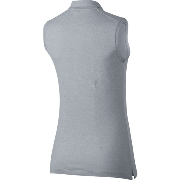 123d0c151 Nike Ladies Dry Golf Sleeveless Polo Shirt. Double tap to zoom. 1 ...