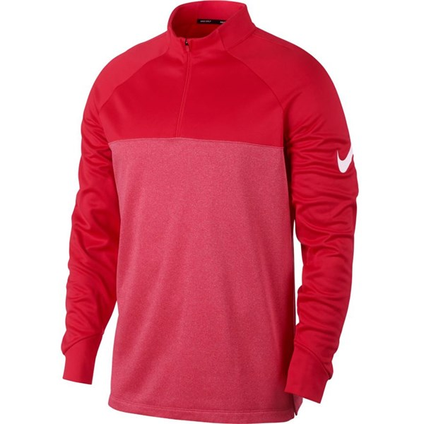 Nike Mens High Collar Therma Core Golf Top
