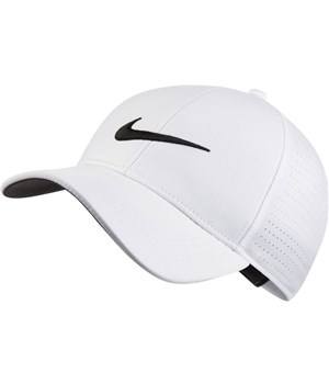 Nike Mens Aerobill Legacy 91 Perforated Fitted Golf Cap. Double tap to  zoom. 1 ... b930ae360b4