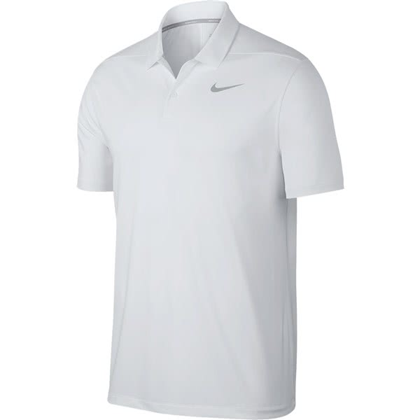 5652dd46 Nike Mens Dry Victory Solid Polo Shirt (Logo on Chest) - Golfonline