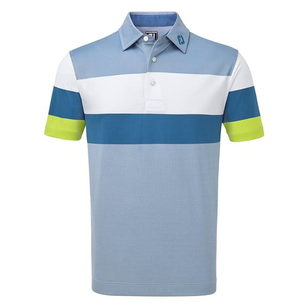 FootJoy Mens Engineered Birdseye Pique Polo Shirt