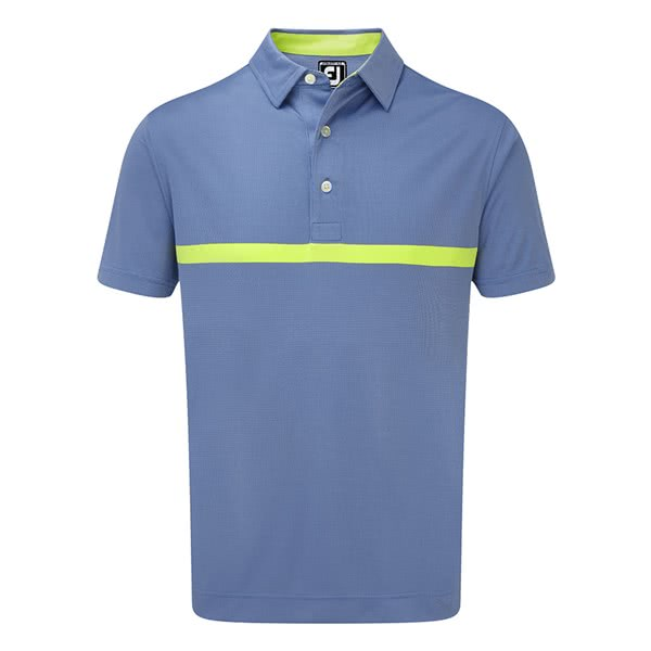 FootJoy Mens Engineered Nailhead Jacquard Polo Shirt