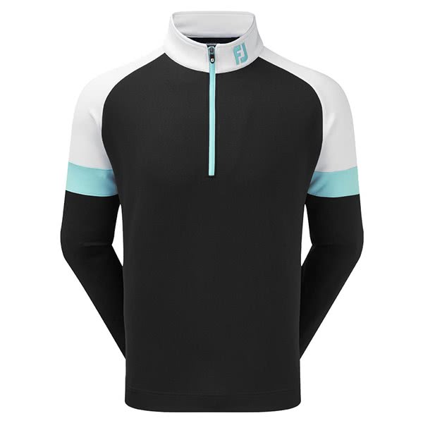 FootJoy Mens Jersey Knit Track Chill-Out Pullover