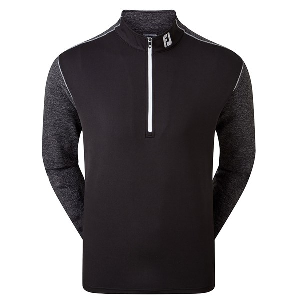 FootJoy Mens Tonal Heather Chill-Out Pullover