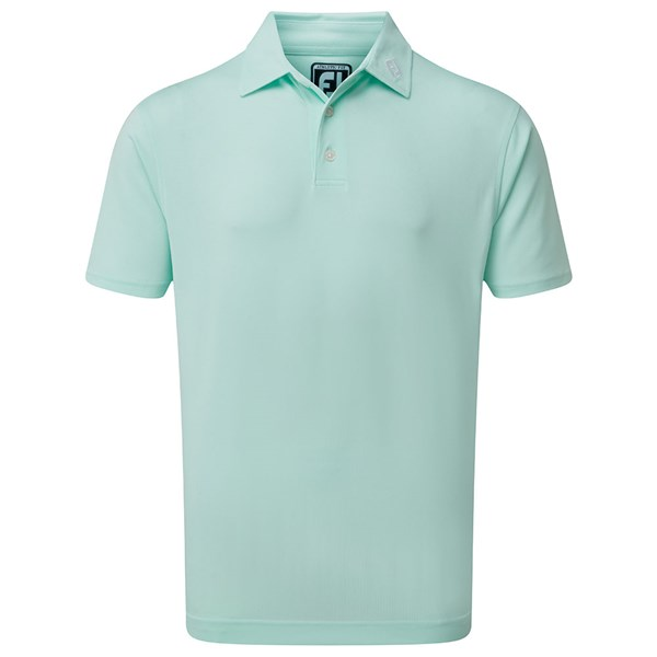 Solid Colour Athletic Fit Polo Shirt