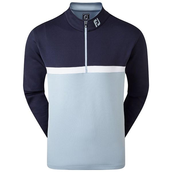FootJoy Mens Colour Blocked Chill-Out Pullover
