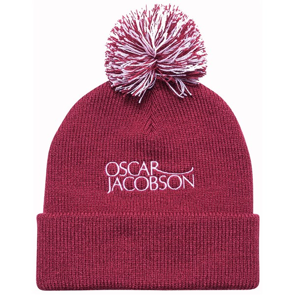 Oscar Jacobson Knitted Bobble Hat II