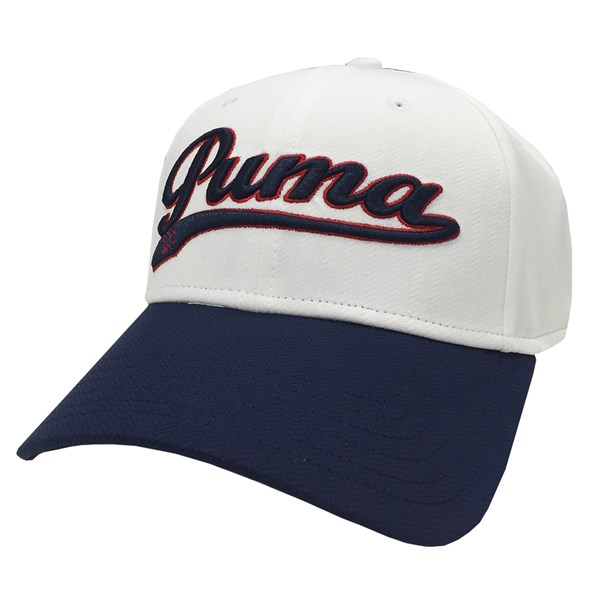 Puma  Script Adjustable Relaxed Cap