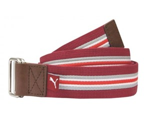 Puma Golf Stripe Jacquard Web Belt