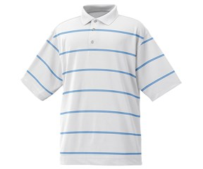 FootJoy Mens Performance Lisle Striped Polo Shirt