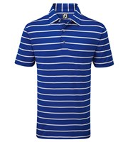 FootJoy Mens Lisle Stripe Polo Shirt