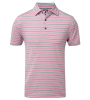 FootJoy Mens Heather Lisle Stripe Polo Shirt