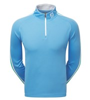 FootJoy Mens Textured Chill-Out Quarter Zip Pullover