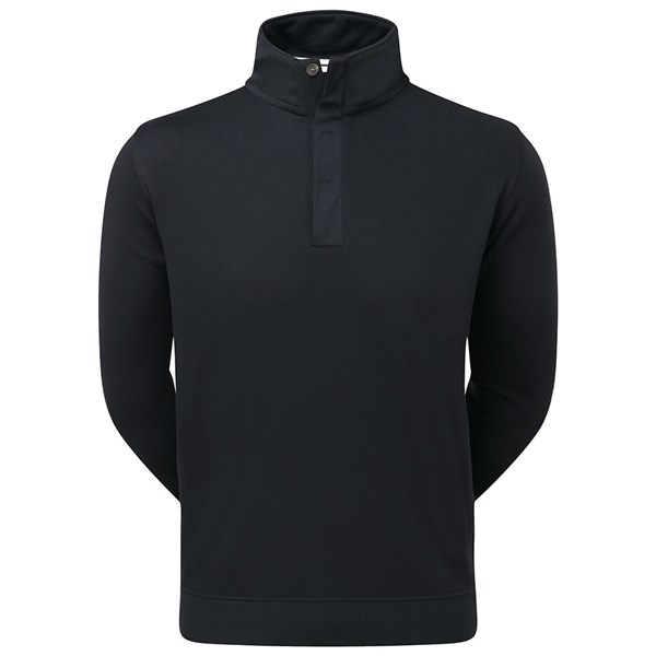 FootJoy Mens Spun Poly Buttoned Pullover