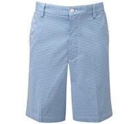 FootJoy Mens Seersucker Golf Shorts (Blue/White)