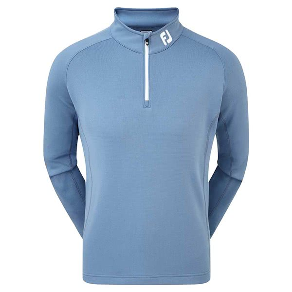 FootJoy Mens Solid Double Layer Chill-Out Pullover