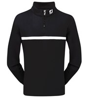 FootJoy Mens Brushed Chill-Out Half Zip Essentials Pullover