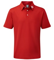 FootJoy Boys Stretch Pique Solid Polo Shirt