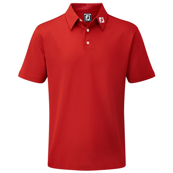 FootJoy Junior Stretch Pique Solid Polo Shirt