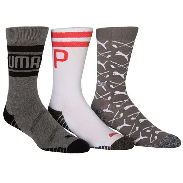 34e2efbf1 Puma Fusion Crew Socks (3 Pack). Double tap to zoom · Write A Review