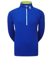 FootJoy Boys Textured Chill-Out Quarter Zip Pullover