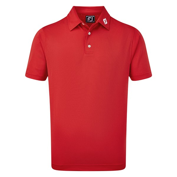FootJoy Mens ProDry Performance Stretch Pique Solid Polo Shirt