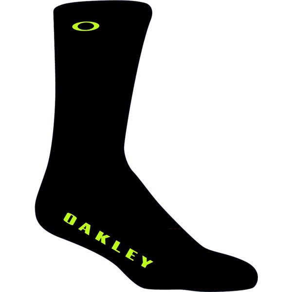 Oakley Mens Ellipse On Top Socks (2 Pairs)