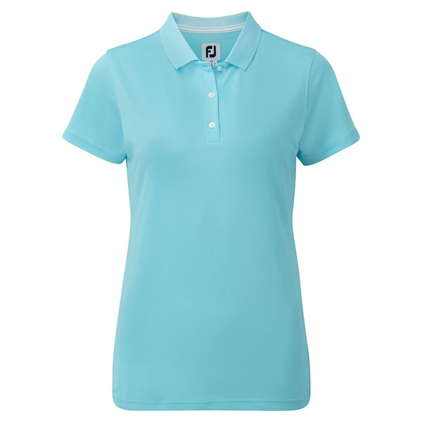 FootJoy Ladies Stretch Pique Solid Polo Shirt