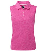 FootJoy Ladies Interlock Sleeveless Solid Polo Shirt
