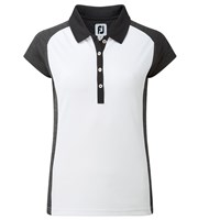 FootJoy Ladies Smooth Pique Cap Sleeve Polo Shirt