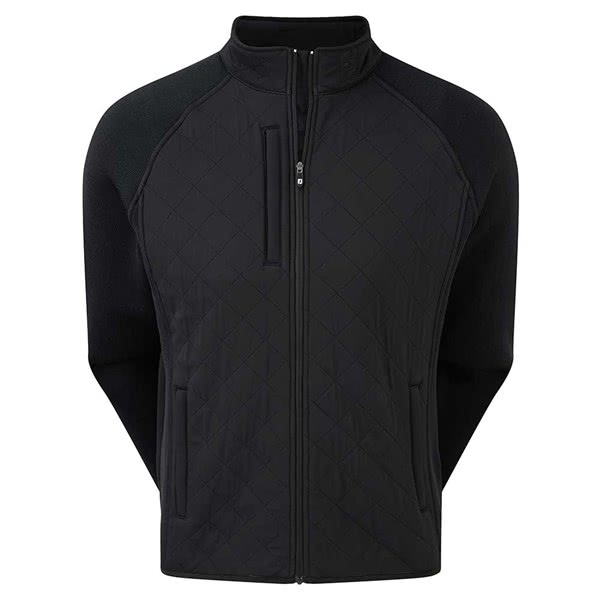 FootJoy Mens Fleece Quilted Jacket