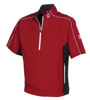 FootJoy Mens DryJoys Performance Light SS Rain Shirt