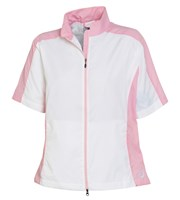 FootJoy Ladies Full Zip Short Sleeve Windshirt