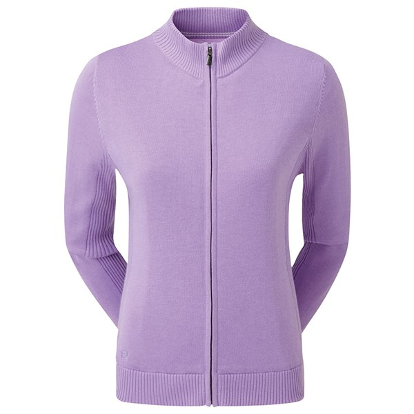FootJoy Ladies Full Zip Lined Wool Blend Jacket