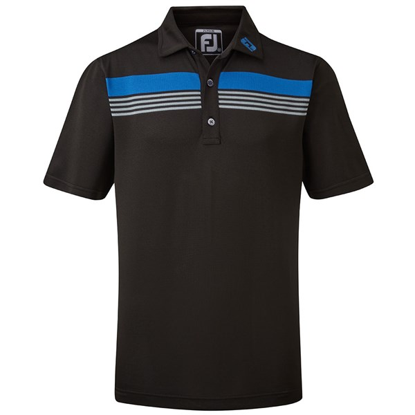 FootJoy Boys Stretch Pique Chestband Polo Shirt