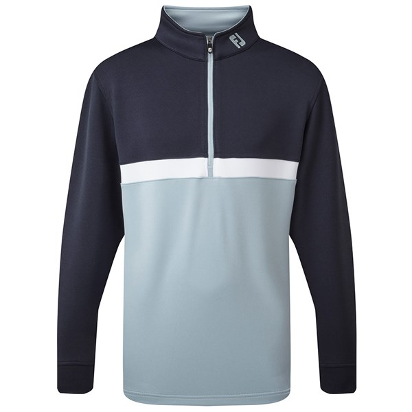FootJoy Boys Quarter Zip Colour Blocked Chillout Pullover