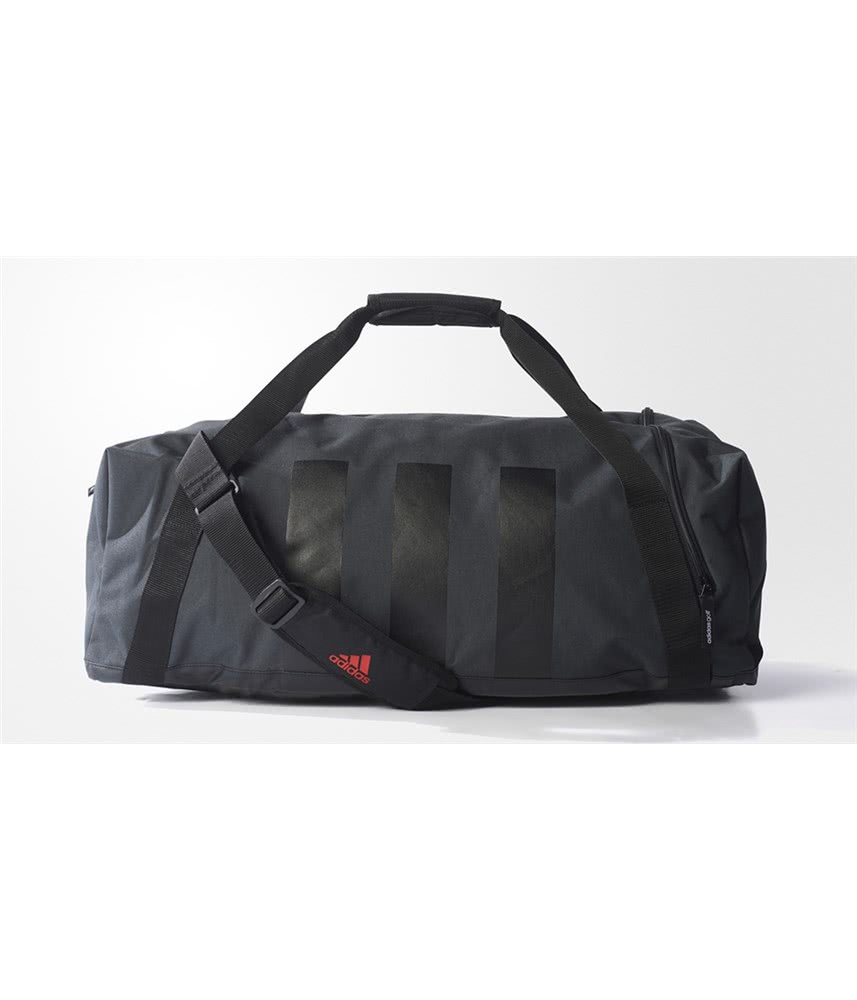 lowest price 5d3ea 628c8 adidas 3 Stripes Medium Duffel Bag. Double tap to zoom. 1 ...