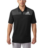 Adidas Mens Badge of Sport Dot Print Polo Shirt