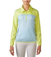 Adidas Ladies Quarter Zip Wind Jacket