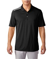 Adidas Mens ClimaCool 3-Stripes Polo Shirt 2016